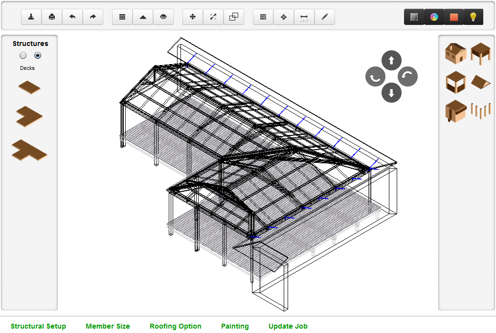 3D CAD Design System in MySys